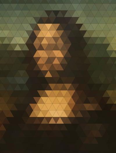 18 - Mona Lisa Neo Mosaico, de Felipe Chavez