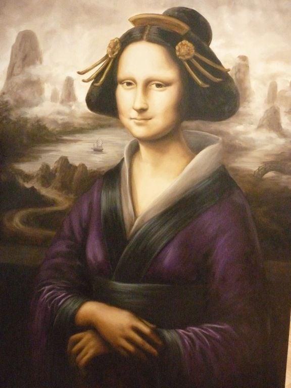 31 - A Mona Lisa gueixa, da espanhola Elena Velasco Aresté