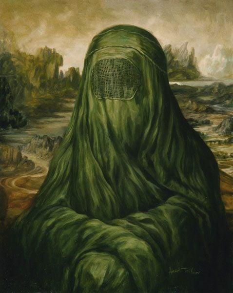 32 - A Mona Lisa de burka, de Heidi Taillefer