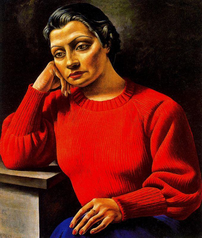 La Mujer Del Sweater Rojo (1935)