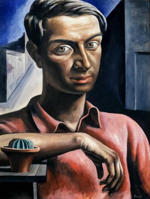 Autorretrato Con Cactus (1934)