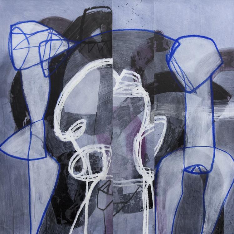 O artista também trabalha com cores monocromáticas
