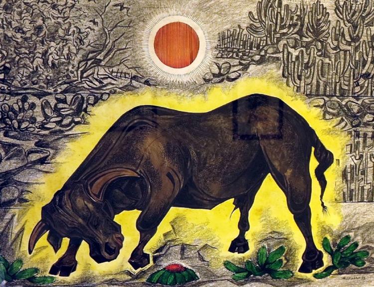 Obra de Newton Navarro, um dos principais artistas plásticos do Rio Grande do Norte faz parte do acervo da Pinacoteca Potiguar