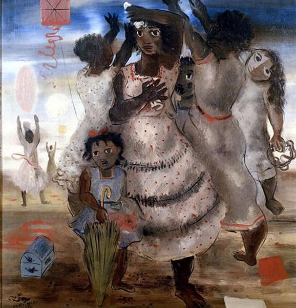 'Grupo de Meninas Brincando' (1940)