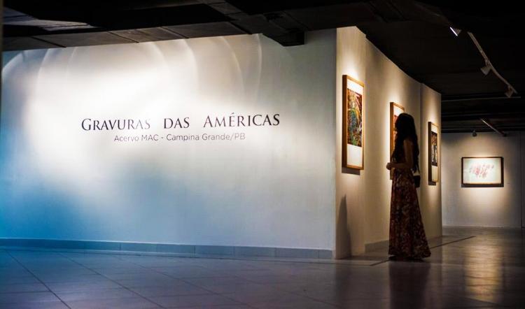 A galeria Archidy Picado recebe a exposição do MAC, de Campina Grande (Fotografia: Thercles Silva)