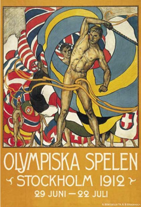 1912 - Estocolmo (Suécia)