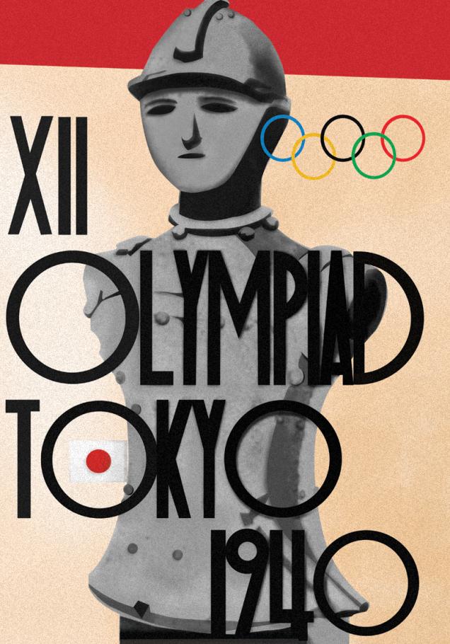 1940 - Tóquio (Olimpíadas canceladas devido à Guerra Sino-Japonesa)
