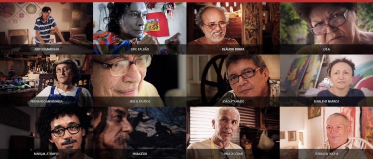 Projeto ' Arte Maranhão'  percorre a trajetória de 13 artistas em documentários
