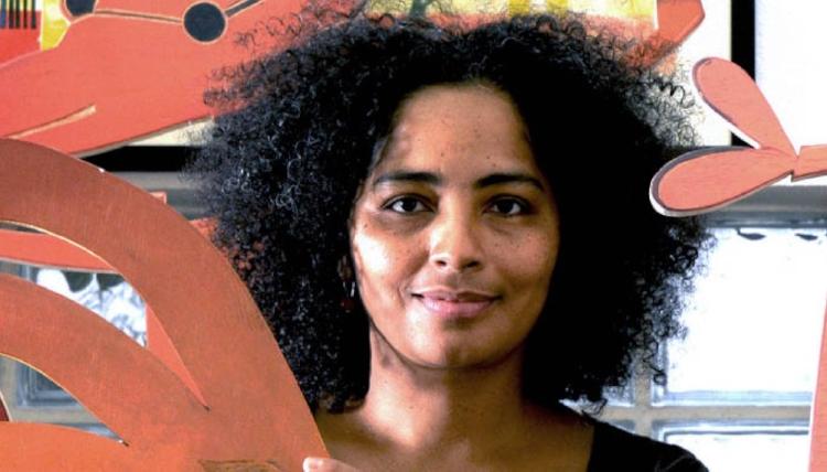 Tita do Rêgo Silva é xilogravurista e  já apareceu por aqui no Pigmum . Seu trabalho é cheio de cores e inspirado na fauna, na flora e nas lendas de sua terra
