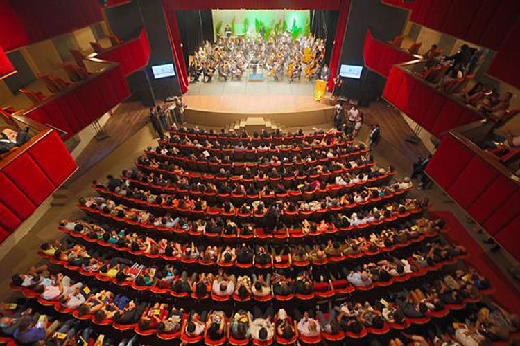 Após a reforma de 1952, o interior do teatro foi completamente descaracterizado