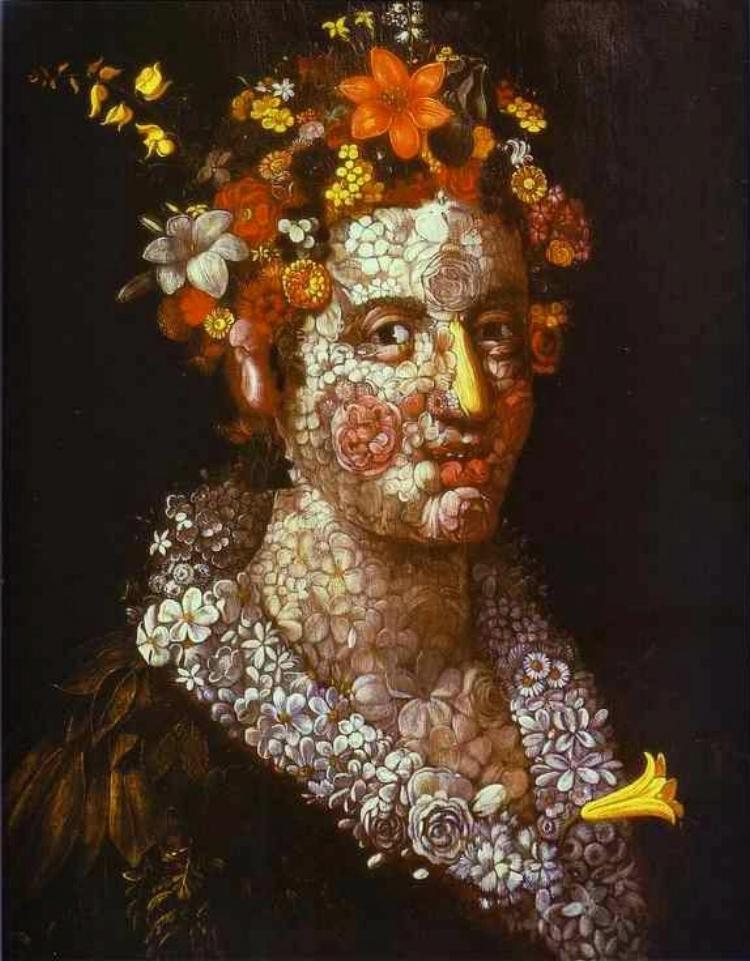3 -  'Flora'  (1591), de Giuseppe Arcimboldo