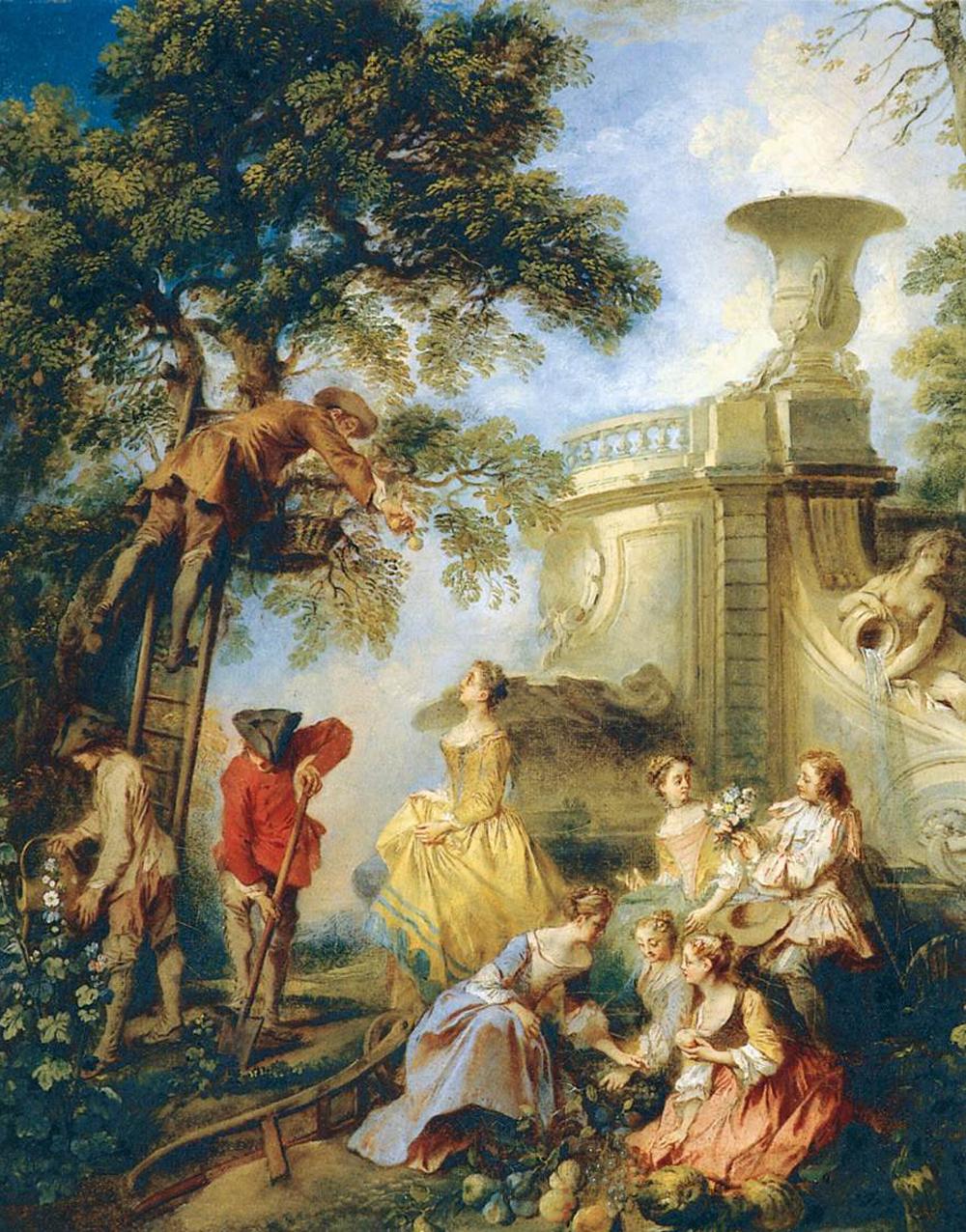 6 -  'A Terra'  (1730), de Nicolas Lancret
