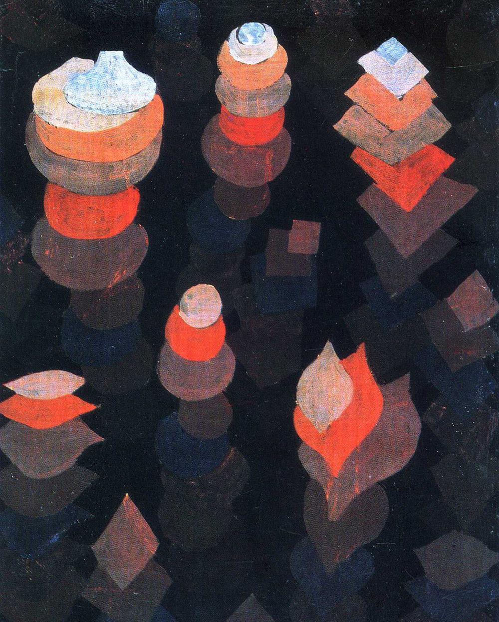 18 -  'Growth Of The Night Plants'  (1922), Paul klee
