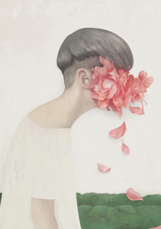25 -  'Weeping'  (2013), de Hsiao-Ron Cheng, artista de Taiwan