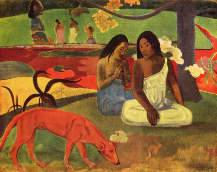 15 -  'Arearea'  (1892), de Paul Gauguin