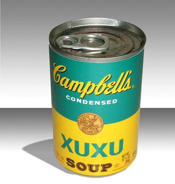 Releitura de OZI para o ready-made de Andy Warhol