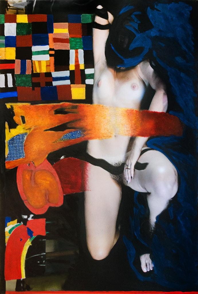 O corpo feminino é o centro das atenções na nova mostra de Roberto Lúcio