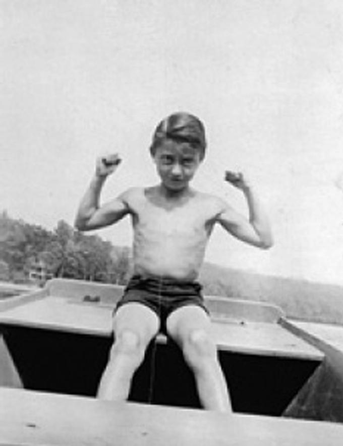Roy Lichtenstein aos 11 anos