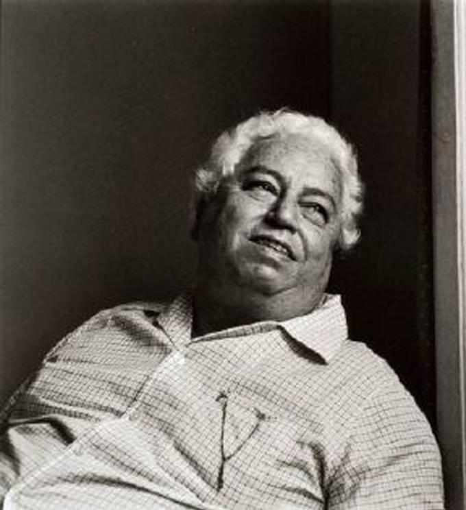 Di Cavalcanti já consagrado como um dos principais pintores do modernismo brasileiro