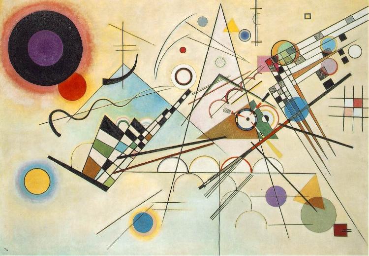 'Composição 8' (1923), Wassaly Kandinsky