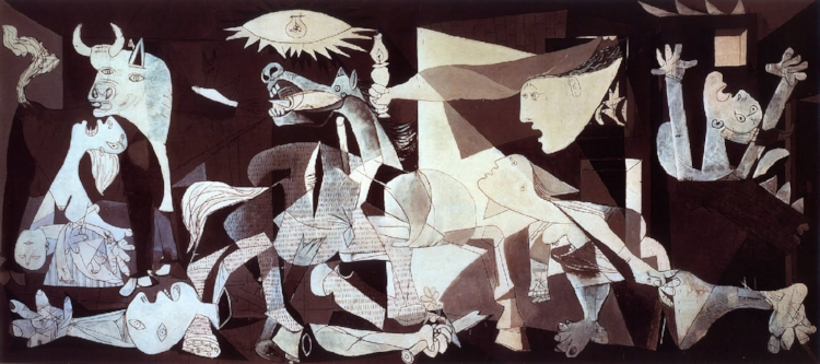 'Guernica' (1937), Pablo Picasso