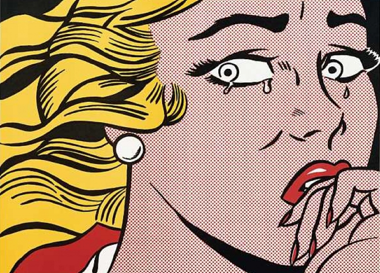 'Crying Girl' (1963), Roy Lichtenstein