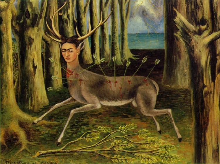 'O Veado Ferido' (1946), Frida Kahlo
