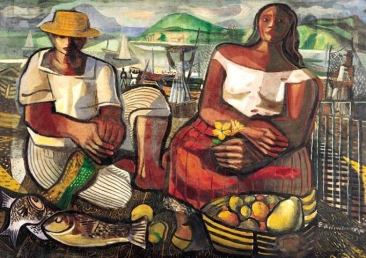'Pescadores' (1951), Di Cavalcanti