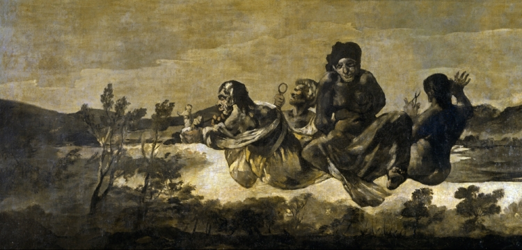 Francisco Goya,  'Átropos ou As Parcas'