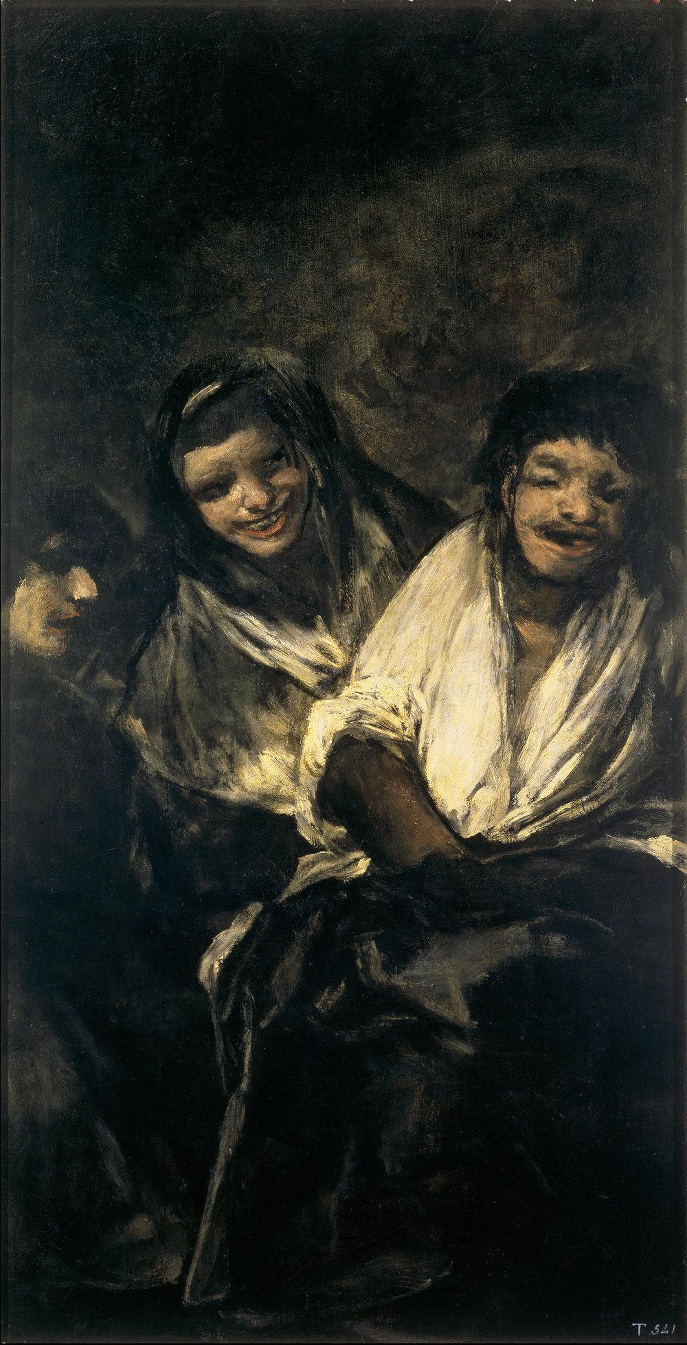 Francisco Goya,  'Mulheres Rindo'