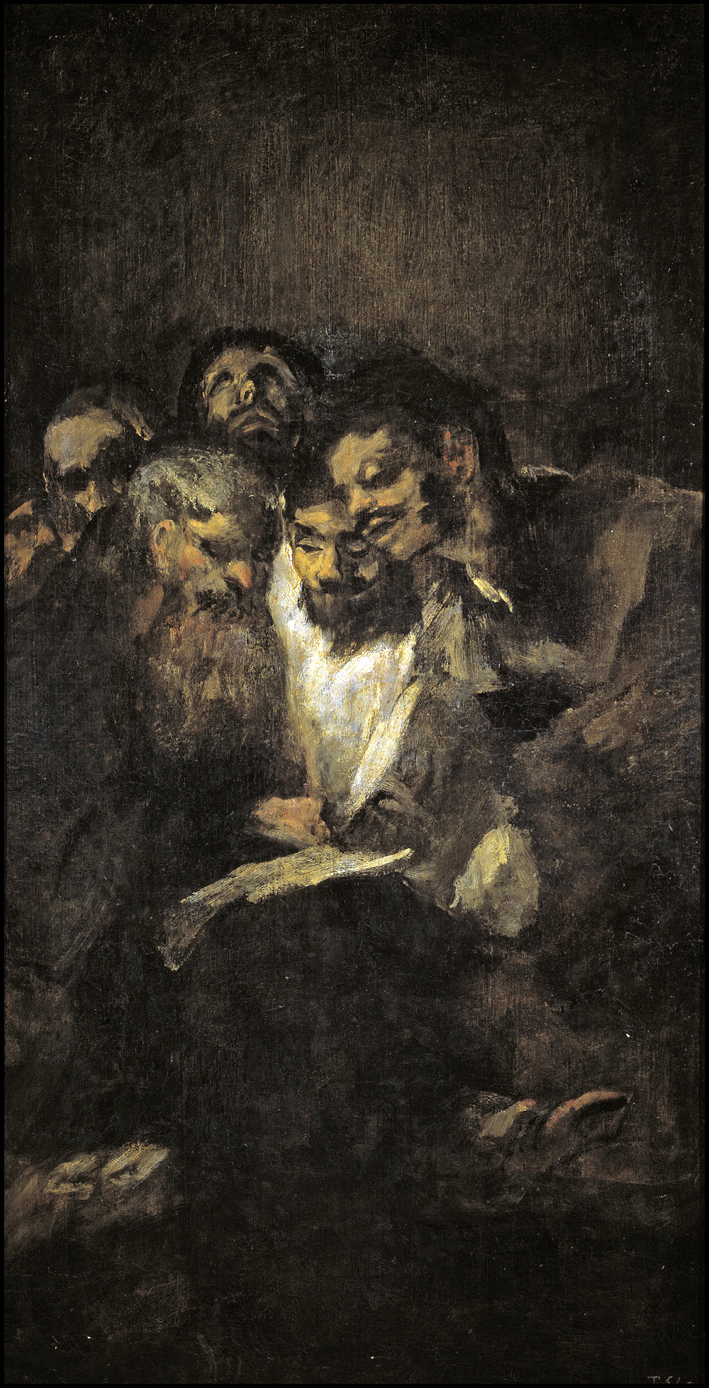 Francisco Goya,  'Homens Lendo'