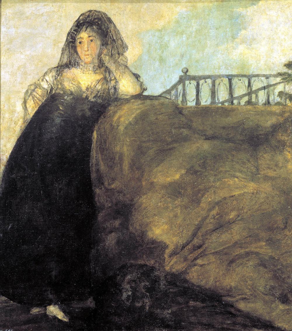 Francisco Goya,  'Una Manola ou La Leocadia'
