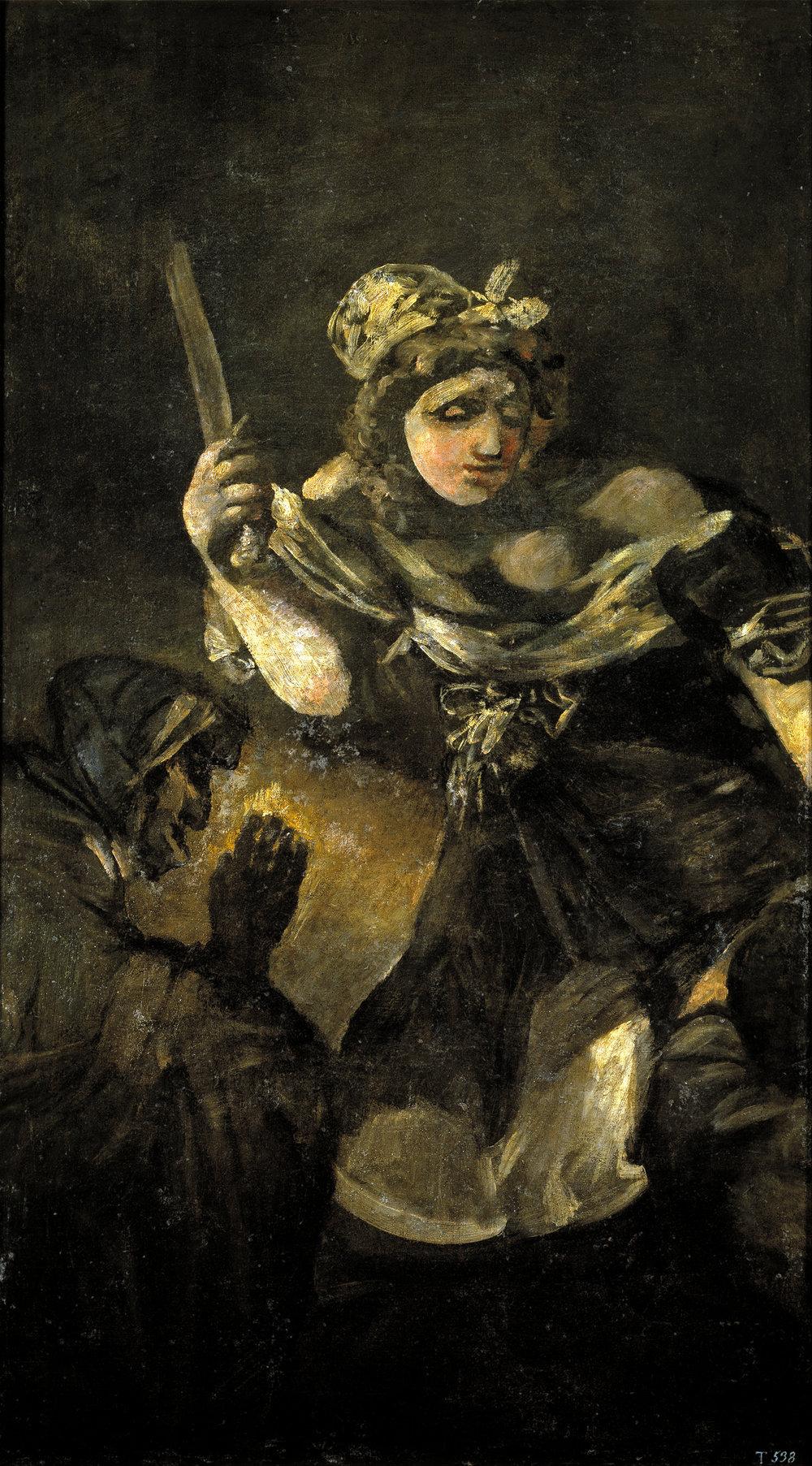 Francisco Goya,  'Judite e Holofernes'