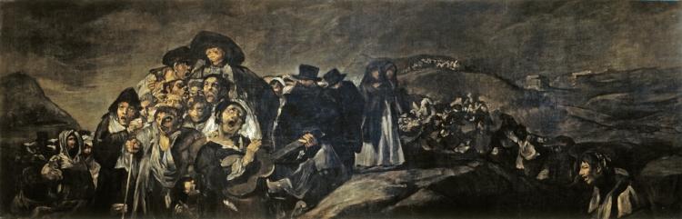 Francisco Goya,  'A Romaria de San Isidro'