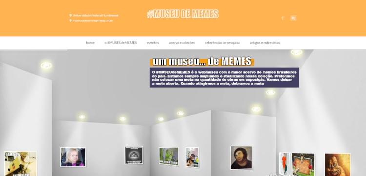 O #MUSEUdeMEMES é uma iniciativa pioneira no Brasil