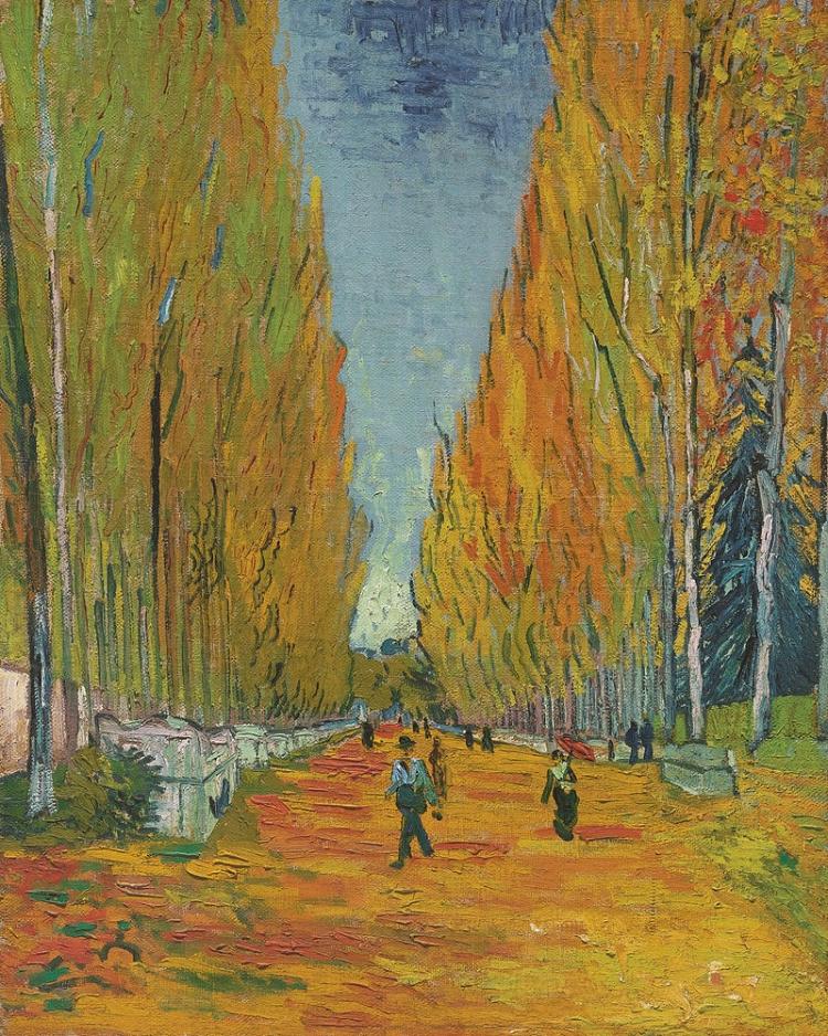 'Les Alyscamps' , de 1888