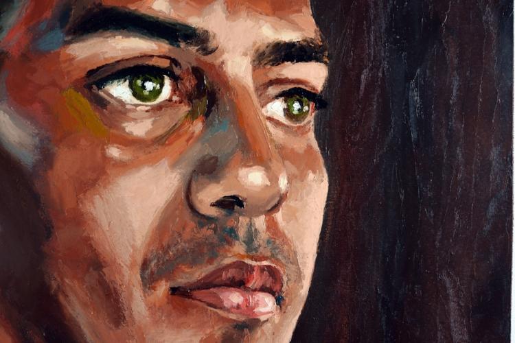 A questão da vulnerabilidade social desses jovens candidatos ao serviço militar é crucial na obra do artista