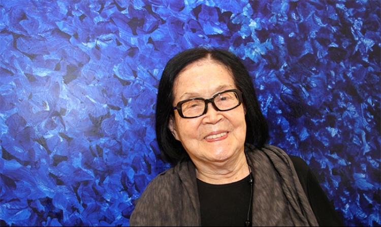 Tomie Ohtake começou a carreira aos 40 anos e produziu ainda por mais 60 anos!