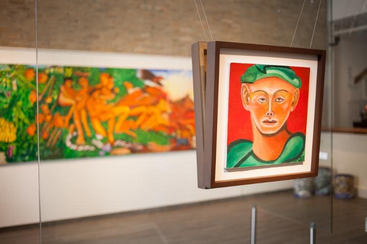 Tiago Amorim abre sua primeira exposição individual em 12 anos! Fotografia: Lucas Oliveira