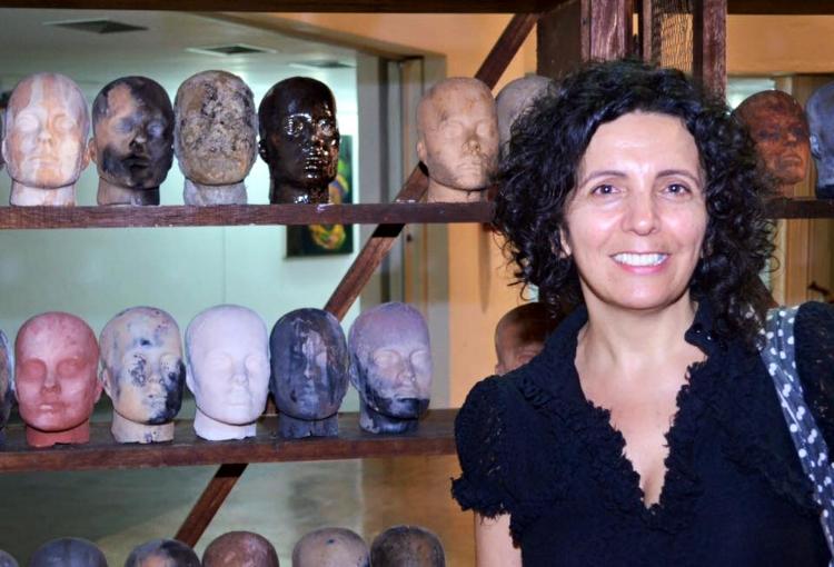 A artista visual Eugênia França vem à Maceió pela primeira vez