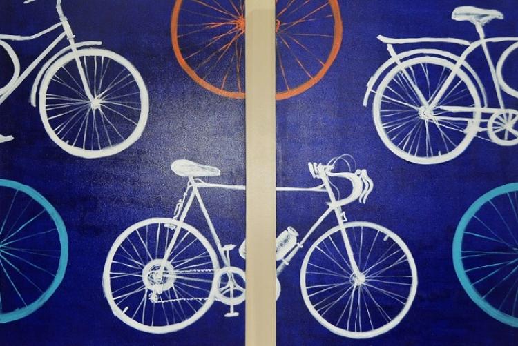 Excerto da obra  'A bicicleta de Eremita Rego e a minha'