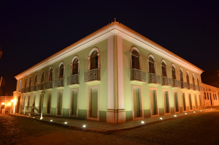 O Centro Cultural Vale Maranhão (CCVM), em São Luís. O prédio histórico foi reformado e abriga a exposição FILE 2017 na capital maranhense