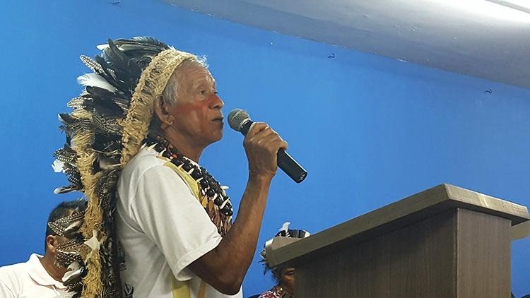A voz da tradição indígena