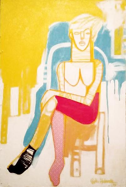 Obra de Guto Holanda que integra a exposição  'Cor de Dentro'