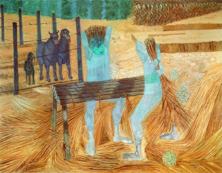 4 -  'Colheita de Arroz'  (1957), Cândido Portinari