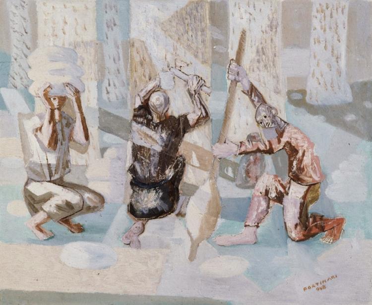 6 -  'Borracha'  (1948), Cândido Portinari