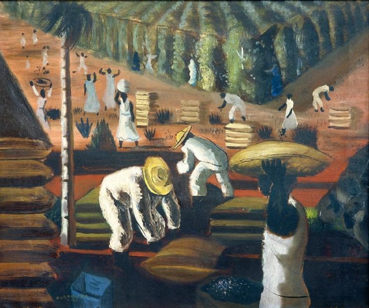 7 -  'Café'  (1940), Cândido Portinari