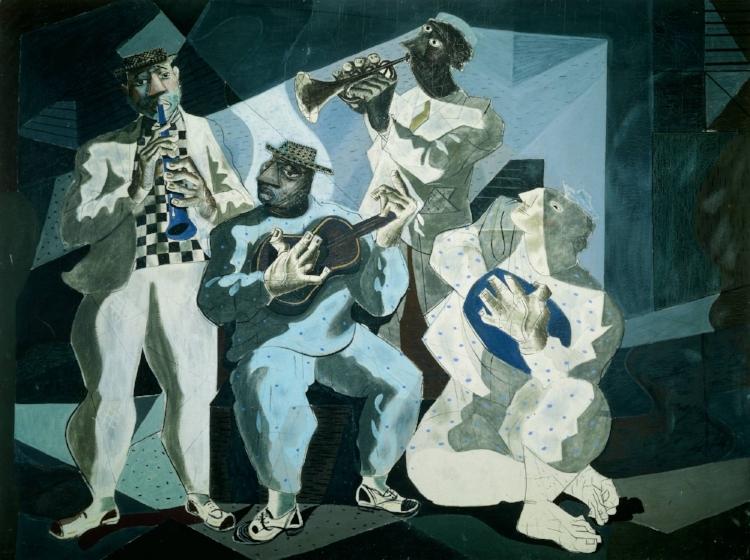 13 -  'Chorinho'  (1942), Cândido Portinari - Porque músicos também são trabalhadores