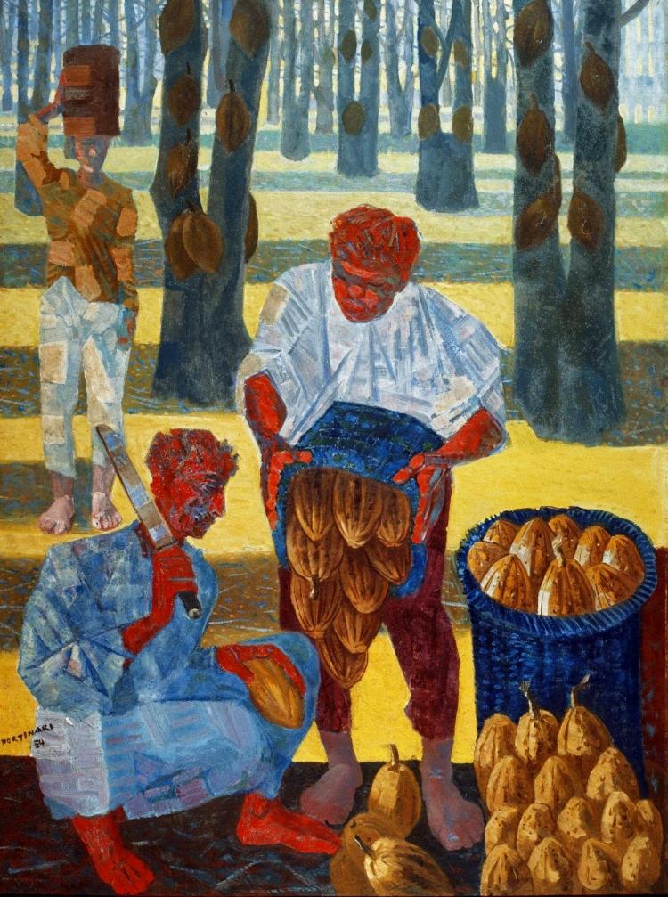 12 -  'Colheita de Cacau'  (1954), Cândido Portinari