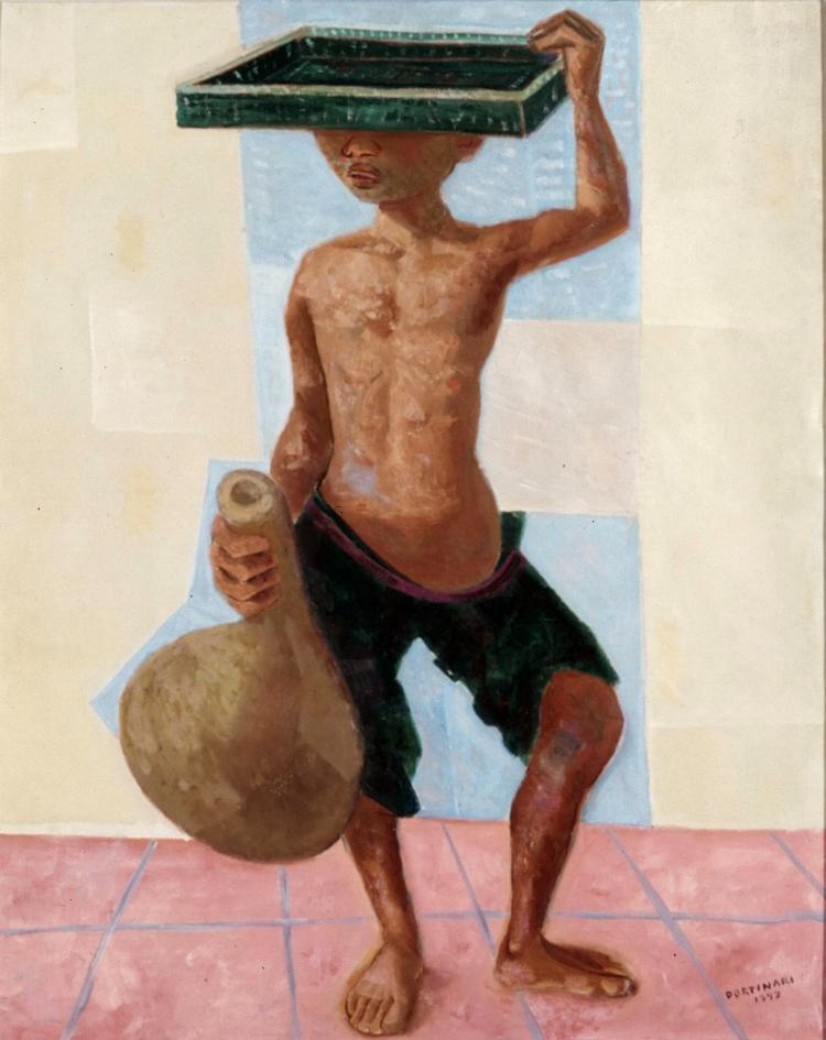 14 -  'Menino do Tabuleiro'  (1947), Cândido Portinari